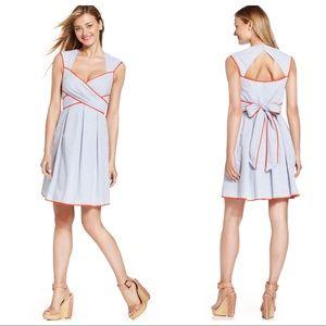 Jessica Simpson Seersucker striped pinup dress NWT